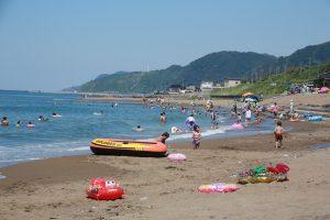 百川海水浴場(2020年7月11日~8月16日)