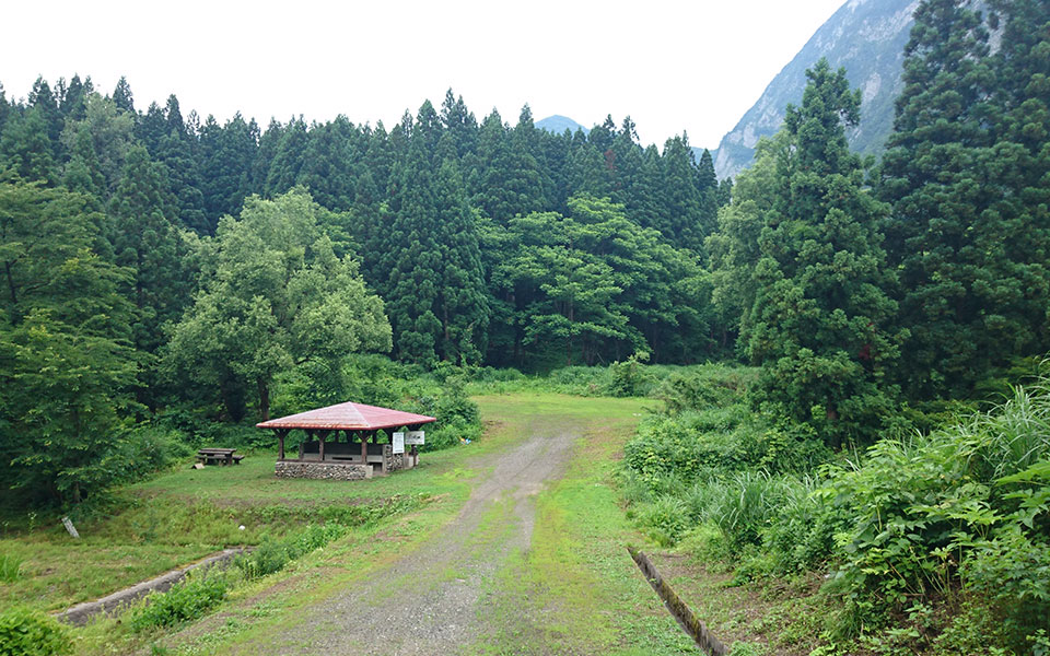 ヒスイ峡キャンプ場