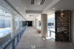 フォッサマグナミュージアム 展望廊下