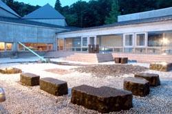 フォッサマグナミュージアム 石の庭