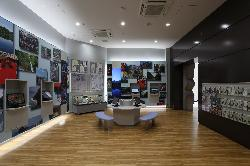 フォッサマグナミュージアム ジオパーク情報コーナー