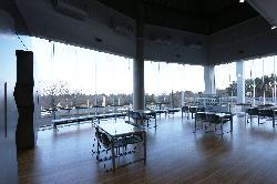 フォッサマグナミュージアム 休憩コーナー