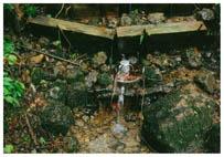 最北の水場シキワリ
