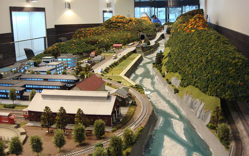 ジオパル ジオラマ鉄道模型