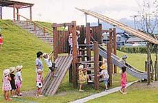 須沢臨海公園 コンビネーション遊具
