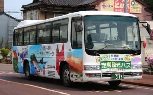 糸魚川定期観光バス ジオま~る号