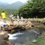 ヒスイ峡フィッシングパーク イワナ・マス釣り(夏)