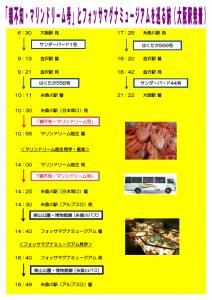 ミュージアム(大阪駅)発着